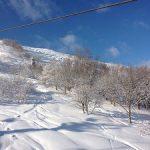 今シーズン初のスキー場