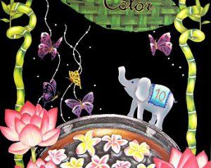 Oriental Color:2015年CAA日本チョークアーティスト協会グループ展出展作品